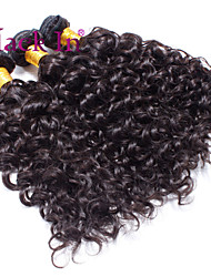 "cheap -3 Pcs Lot 12""-30"" Brazilian Deep Curl Wefts Natural Black Remy Human Hair Weave Tangle Free"