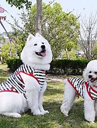 povoljno -Mačka Pas T-majica Odjeća za psa Dungi Crn Pamuk Kostim Za kućne ljubimce Muškarci Žene Ležerno/za svaki dan