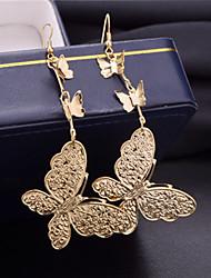 Femme Poignets oreille Mode Multicouches Alliage Papillon Animal Bijoux Soirée Quotidien