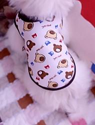 Chat Chien Tee-shirt Vêtements pour Chien Cosplay Mariage Dessin-Animé Arc-en-ciel Costume Pour les animaux domestiques