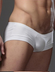 cheap -Men's Sexy Boxer Briefs Solid Colored Low Waist