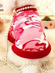 preiswerte -Katze Hund T-shirt Hundekleidung Perle Rot Blau Baumwolle Kostüm Für Haustiere Cosplay Hochzeit