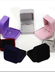 Недорогие -Коробки для бижутерии - Мода Тёмно-синий, Черный, Красный 7 cm 7 cm 4 cm / Жен.