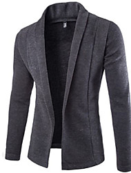 cheap -Men's Casual Long Sleeve Knitwear Cardigan
