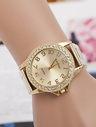 cheap -Women's Round Dial Case Alloy Watch Brand Fashion Quartz Watch Cool Watches Unique Watches