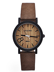 моделирование деревянные мужчин Relojes кварцевые часы случайным деревянный цвет кожаный ремешок часы наручные часы мужской древесины