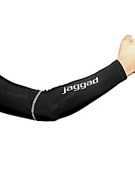 cheap -Jaggad Sleeves Quick Dry Fleece Lining Cycling / Bike Men's 100% Polyester Solid