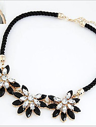 Women's Choker Necklaces Statement Necklaces Vintage Necklaces Flower Sunflower Alloy Fashion Statement Jewelry Costume Jewelry Jewelry