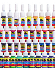 Solong Tattoo Inks 40 Colors Set 5ml/Bottle Tattoo Pigment Kit