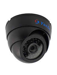 cheap -YanSe® 1000TVL 2.8mm Plastic indoor D/N CCTV Camera IR 24 LED Dome Wired 632CF
