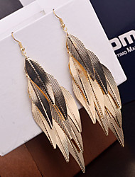 Women's Drop Earrings Statement Jewelry Personalized Vintage Costume Jewelry Alloy Leaf Jewelry For Wedding Party Special Occasion Daily