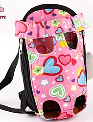 cheap -Cat Dog Carrier & Travel Backpack Front Backpack Pet Baskets Cute Pink For Pets