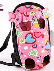 preiswerte -Katze Hund Transportbehälter &Rucksäcke vorne Rucksack Haustiere Körbe Niedlich Rosa Für Haustiere