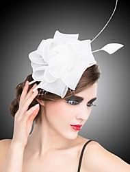 abordables -Femme Organza Casque-Mariage Occasion spéciale Coiffure Fleurs Barrette 1 Pièce