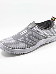 cheap -Men's Shoes Fabric Casual Fashion Sneakers Casual Running Blue / Gray
