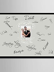 e-Home® personlig signatur lærred ramme-nyt foto (inkluderer ramme)