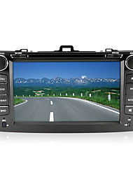 "baratos -8 ""2 din carro dvd player para 2007-2013 toyota corolla com bluetooth, gps, tv, fm"