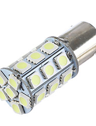 economico -Lorcoo bay15d 1156 27 smd 5050 led auto coda stop freno freno segnale luce bianca 12v (1pc