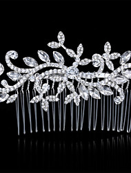 cheap -Alloy Hair Combs 1 Wedding Special Occasion Headpiece