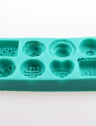 cheap -Cake Series Fondant Cake Chocolate Silicone Molds,Decoration Tools Bakeware