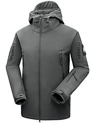 Herrn Unisex Softshelljacke für Wanderer Außen Winter Wasserdicht warm halten Rasche Trocknung Windundurchlässig Isoliert Regendicht