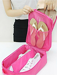 Women Shoes Pounch Canvas/Nylon/Acrylic Zipper Travel Bag