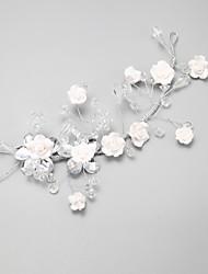 krystal legering blomster headpiece bryllupsfesten elegant feminin stil