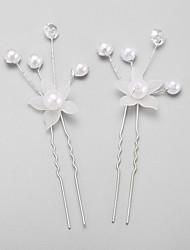 perle imiteret perle legering hårstift hovedstykke klassisk feminin stil