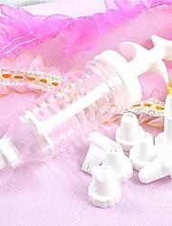 tubo crema decorazione bocca decora gli attrezzi sbuffi (1 set)