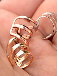 preiswerte -Herrn / Damen Ohr-Stulpen / Ohrring - Simple Style, Modisch Silber / Rose / Golden Für Hochzeit / Party / Alltag