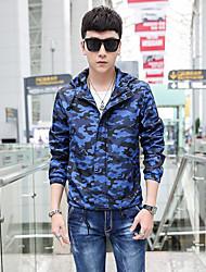 preiswerte -Druck Normal Übergröße Standard Jacke Polyester