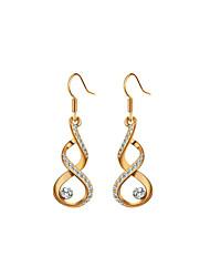 cheap -Women's 1 Drop Earrings - Regular Gold Silver Irregular Earrings For
