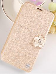 cheap -Case For Samsung Galaxy Samsung Galaxy Case Wallet / Card Holder / Rhinestone Full Body Cases 3D Cartoon PU Leather for S7 edge / S7 / S6 edge plus