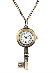 Man And Wwoman Quartz Key Pocket Watch Cool Watch Unique Watch