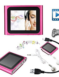4gb mp3 mp4 sesto giocatore radio TV LCD touch screen fm gen filmato video sottile giochi
