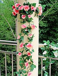 abordables -Fleurs artificielles 1 Une succursale Fleurs de mariage Roses Fleur de Table