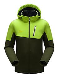 Men's Hiking Softshell Jacket Waterproof Windproof Windstopper Trekking Ultraviolet ResistantBreathable Outdoor Jacket Windbreaker Winter Fleece