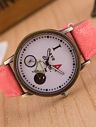 cheap -Men's Sport Watch Dress Watch Fashion Watch Wrist watch Quartz Large Dial Fabric Band Charm Multi-Colored