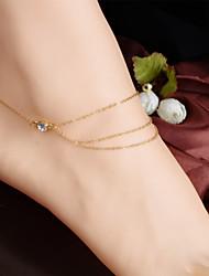 Недорогие -Ножной браслет - кисточка, Винтаж, Для вечеринки Цвет экрана Назначение Повседневные Жен.
