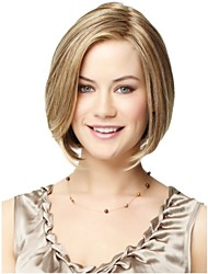 cheap -Beautiful Fashion Blonde Color Short Straight Wig
