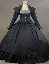 cheap -One Piece Dress Gothic Lolita Dress Women's Girls' Lolita Accessories Lace Cotton Terylene