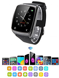 baratos -Relógio inteligente I8 para iOS / Android Monitor de Atividade / Monitor de Sono / Encontre Meu Aparelho / Relogio Despertador / Compartilhamento em Redes Sociais / Chamadas com Mão Livre / Áudio