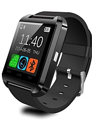 cheap -Smartwatch U8 for iOS / Android Calories Burned / Temperature Display / Smart Case / Touch Screen / Alarm Clock Activity Tracker / Alarm Clock / Hands-Free Calls / Media Control / Message Control