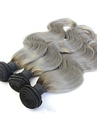 billige -3 Bundler Peruviansk hår Krop Bølge Menneskehår, Bølget Menneskehår Vævninger Menneskehår Extensions