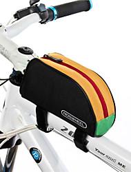 abordables -ROSWHEEL 1 L Bolsa para Cuadro de Bici / Bolsa de tubo superior Impermeable, A Prueba de Humedad, Listo para vestir Bolsa para Bicicleta Poliéster 600D Bolsa para Bicicleta Bolsa de Ciclismo Ciclismo