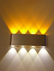 cheap -Multi-T Color Temperature Lamp Creative Bar Model Wall Sconces LED / Bulb Included  Metal 85-265V 6W