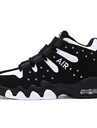 baratos -2018 novas chegadas sapatos de basquete sapatos unisex preto / azul / branco