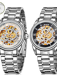 Personalized Gift Men's Watch with Steel Band Mechanical Watch