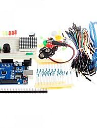 Pulsante ponticello nuovo starter kit ONU R3 mini tagliere led per compatile arduino