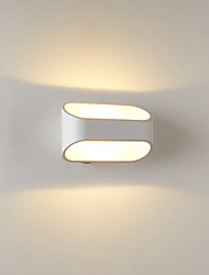 cheap -LED / Bulb Included Flush Mount wall Lights,Modern/Contemporary LED Integrated Metal